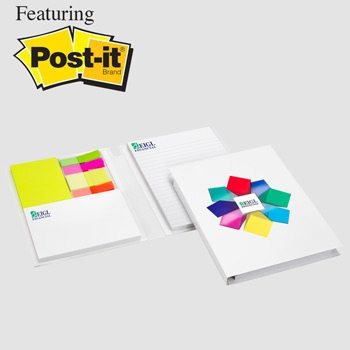 Essential Journal featuring Post-it® Notes and Flags - Option 2
