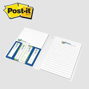 Essential Journal featuring Post-it® Notes and Flags — Option 4