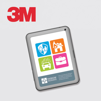 3M™ Custom Printed Skin — Small Tablet