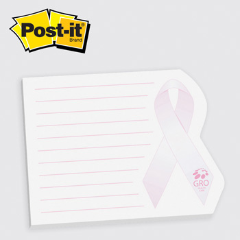 Post-it® Custom Printed Notes Shapes Ribbon (#104)