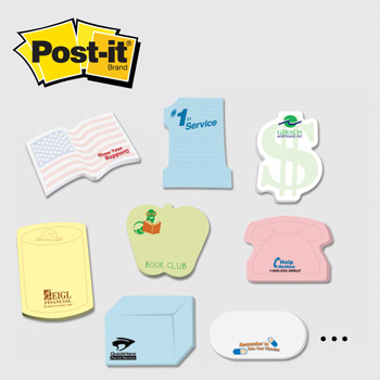 Post-it® Custom Printed Notes Shapes — Medium