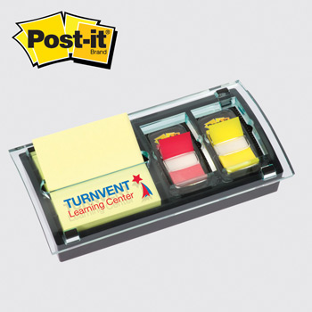 Post-it® Custom Printed  DS100 Pop-up Note and Flag Dispenser