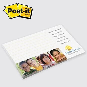 Post-it® Custom Printed Notes 3 x 5