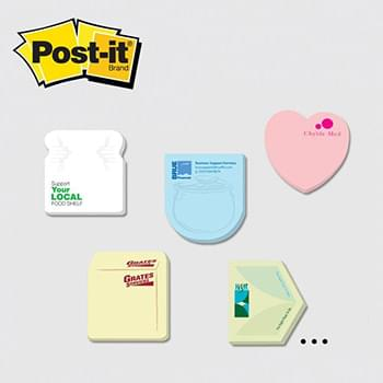 Post-it® Custom Printed Notes Shapes — Small