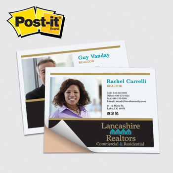 "Post-it® Custom Printed Poster Paper — 4"" x 5"""